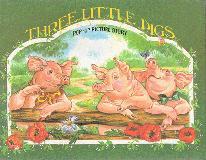 The Three Little Pigs Pop-Up Picture Story