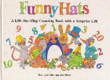 Funny Hats. A Lift-the-Flap Counting Book with a Surprise Gift