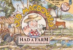 OLD MACDONALD HAD A FARM A PEEP-THROUGH PICTURE BOOK (Picture Bluegum)