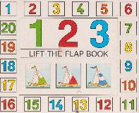 123 LIFT-THE-FLAP BOOK