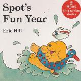 Spot's Fun Year, 2 Spot lift-the-flap stories (Spot Goes to School and Spot Goes on Holiday)