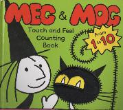 MEG & MOG Touch and Feel Counting Book From 1 to 10