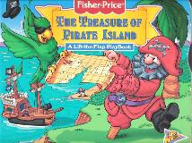 The Treasure of Pirate Island, A Lift-the-Flap PlayBook