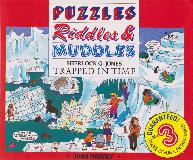 PUZZLES Riddles & MUDDLES: TRAPPED IN TIME BOOK 3