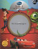 Disney 3-in-1: The World of Cars, Monster, INC, Toy Story CD STORYBOOK (no CD)